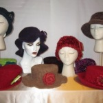 Rebecca Lecy Sassy Hats, Etc Knitted and felted accessories