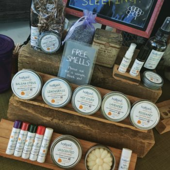 """Lisa Kraft<br> Halfpint Naturals<br> Chemical- and preservative-free body care products<br> <a href=""""http://www.www.halfpintnaturals.com"""" target=""""_blank"""">www.halfpintnaturals.com</a>"""