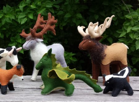 """Holly Myers<br>Holly's Meadow<br>Hand-stitched animals and ornaments, art prints  <br><a href=""""https://www.etsy.com/shop/HollysMeadow"""" target=""""_blank"""">www.etsy.com/shop/HollysMeadow</a>"""