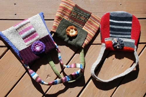 """Linda Knappenberger <br>Accessories & kids' clothing from recycled textiles <br><a href=""""http://www.etsy.com/shop/PlayItAgainGram"""" target=""""_blank"""">www.etsy.com/shop/PlayItAgainGram</a>"""