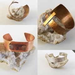 """Cassandra Lourie Herzog<br>Lux and Luca<br>Contemporary metal jewelry <br><a href=""""https://www.luxandluca.com"""" target=""""_blank"""">www.luxandluca.com</a>"""